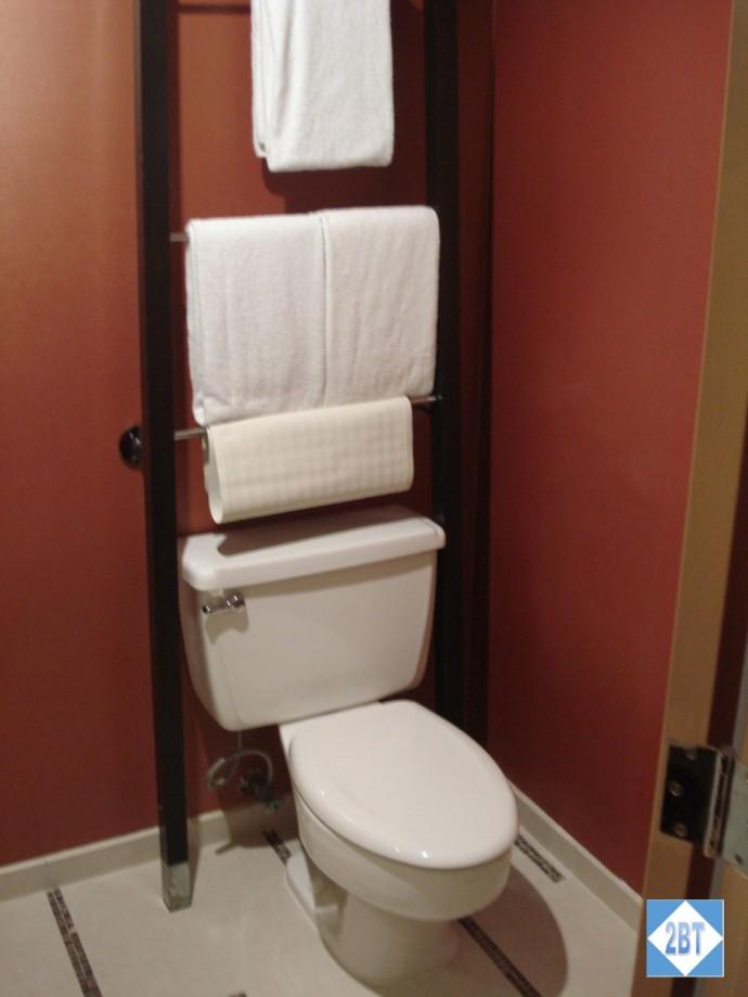 Hyatt Regency DFW Toilet