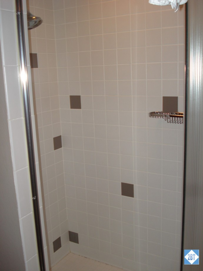 Shower in Master Bath - no tub in this bathroom