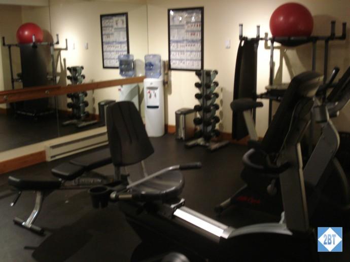 Recumbent bike and weights