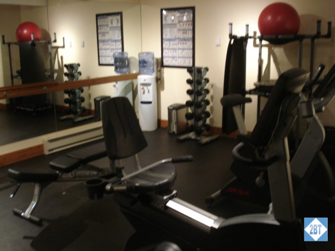 Recumbent bike and weights