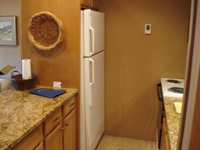 A true galley kitchen