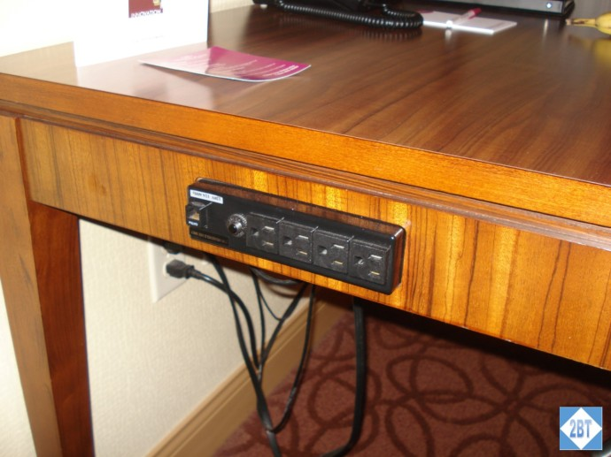 CP MKE West Desk Outlets