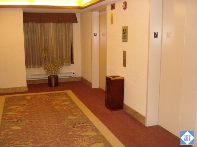 CP MKE West Elevator Lobby