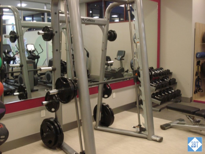 CP MKE West Gym Weights