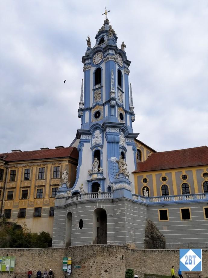The Blue Church of Dürnstein