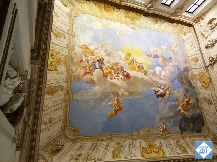 The Apotheosis of Charles VI dates to 1739
