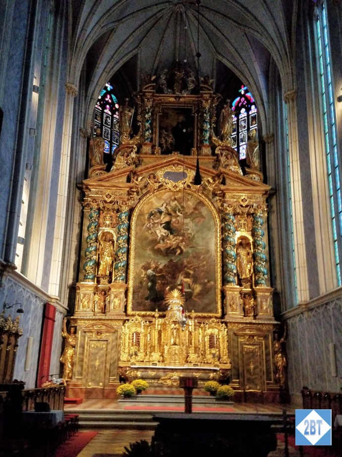 The high altar in the church at Göttweig Abbey