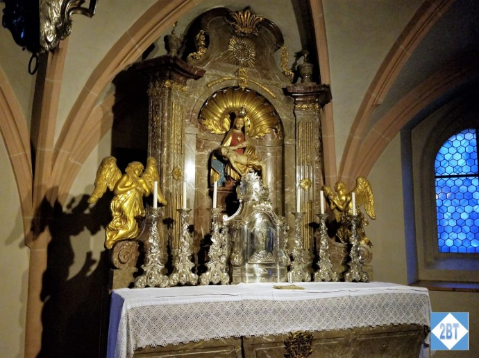A small altar in Göttweig Abbey