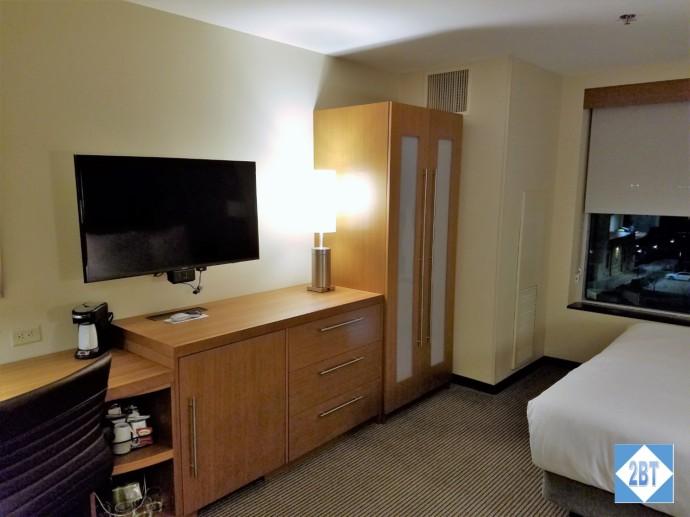 Hyatt Place DFW Wardrobe, Chest and TV