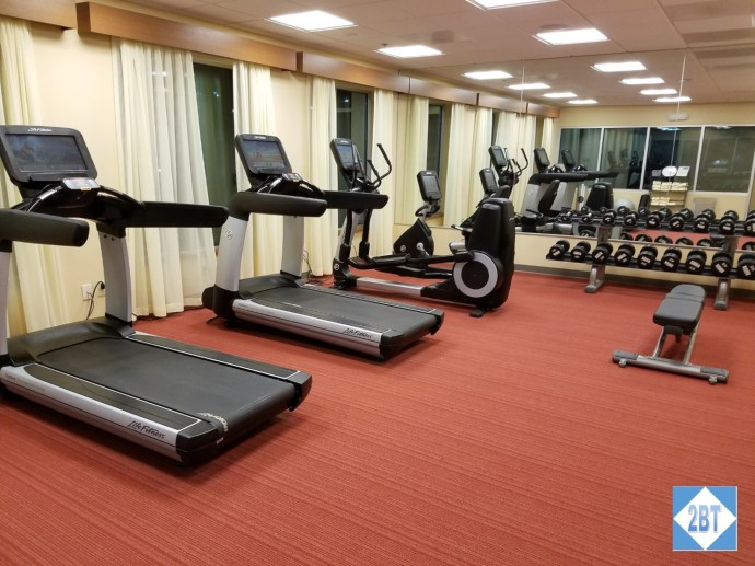 Hyatt Place DFW Gym