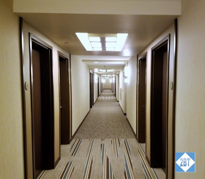 Hyatt Place DFW Hallway