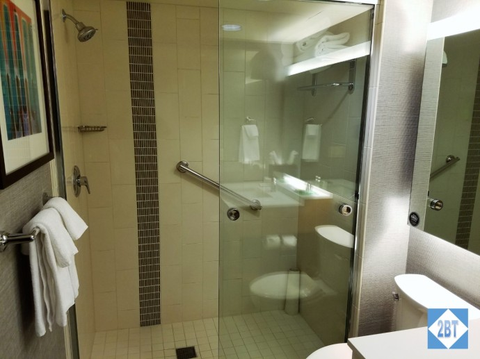 Hyatt Place DFW Shower