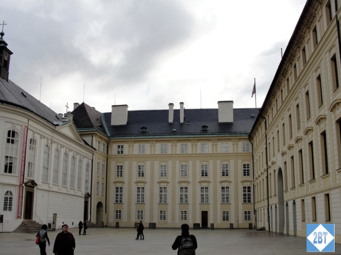 During the time of Rudolf II this area was the stables but is now exhibition space