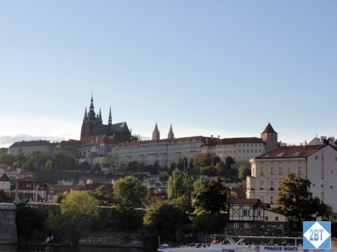 Prague Castle with the Church of St. Vitus at center