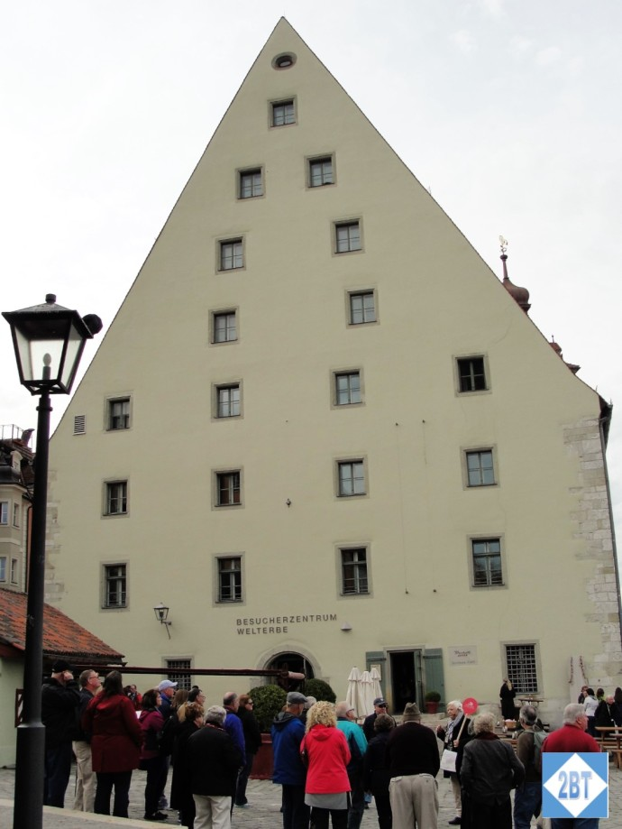 One-time salt warehouse, now the Visitors' Center