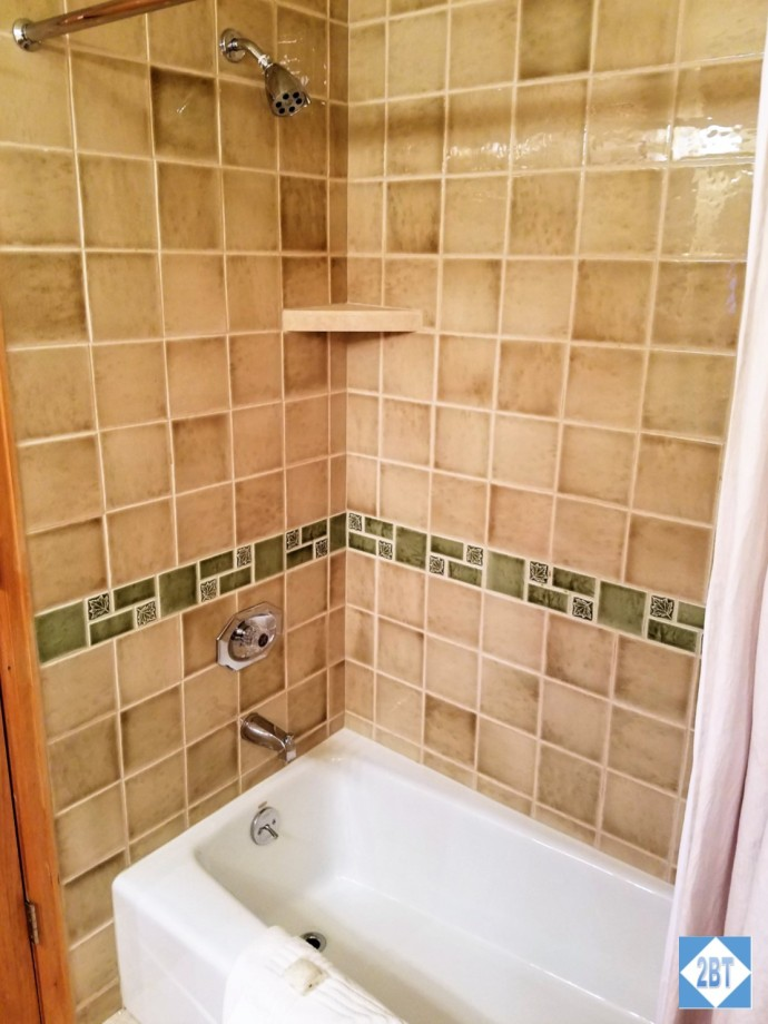 Shower/tub for the 3rd bath