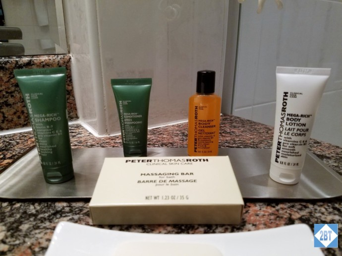 Twin Guest Room Peter Thomas Roth Toiletries