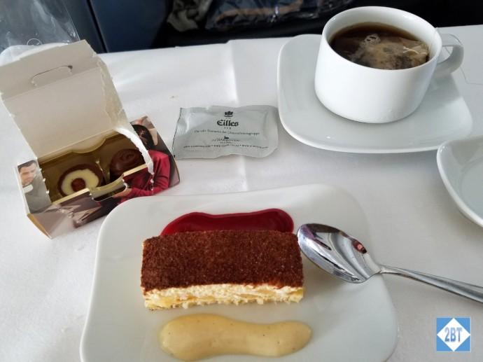 LH 430 Business Class Dessert