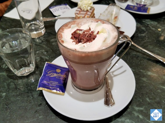 Yummy rich hot chocolate!