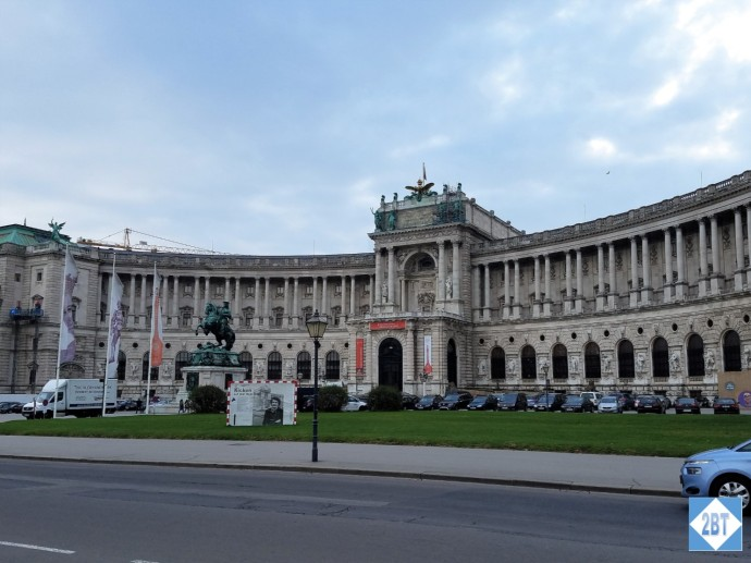 The Neue Burg (New Wing) of Hofburg Palace