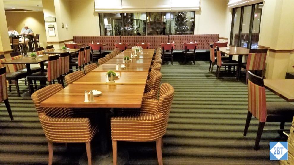 Hilton Garden Inn Bozeman Breakfast Seating