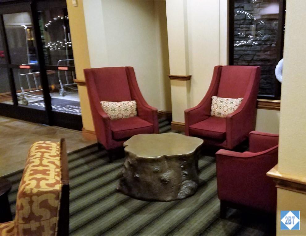 Hilton Garden Inn Bozeman Lobby Seating