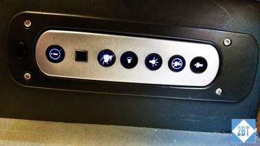 SAS Business Class control panel