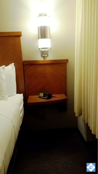 Hyatt Place Denver Airport Right Side Nightstand