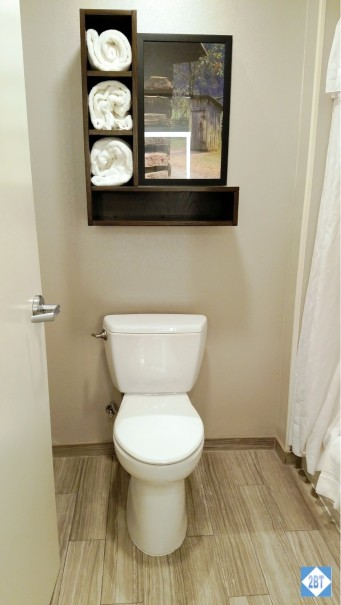 One Bedroom Suite Toilet