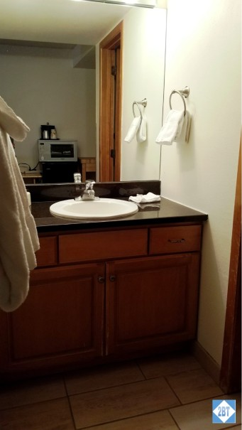Village Square Master Bedroom Sink